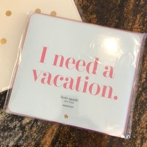 Kate Spade I Need A Vacation Mousepad